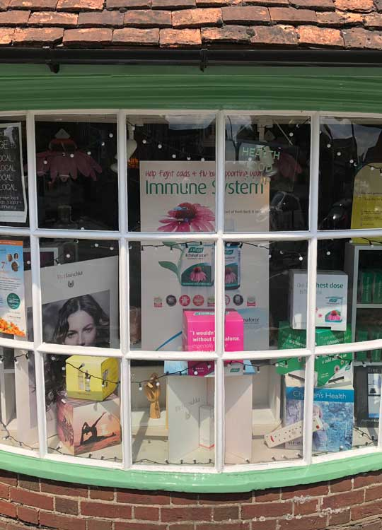 Pukka Window Display